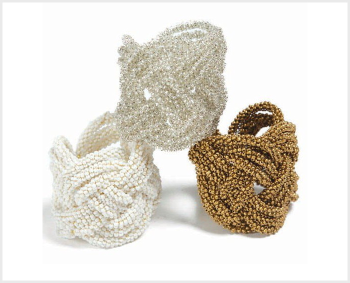 Beaded Napkin Rings 02